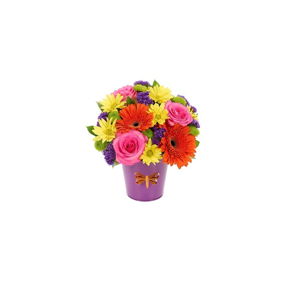 Happy birthday wishes flower bouquet (BF511-11KMD)